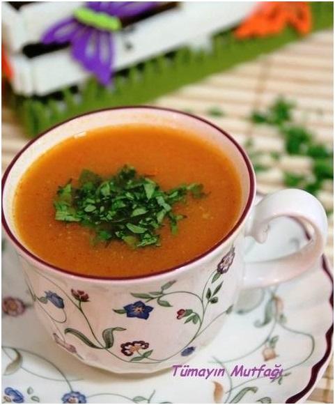 Sebzeli Bahar Çorbası