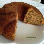 cevizli havuclu tarcinli kek