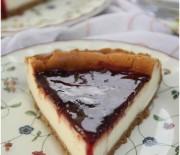 Böğürtlen Soslu Cheesecake
