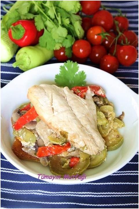 Sebzeli Levrek Buğulama ve Cookplus