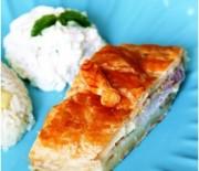 Peynir Dip Soslu Milföy Sarma
