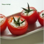 peynirli domatesler
