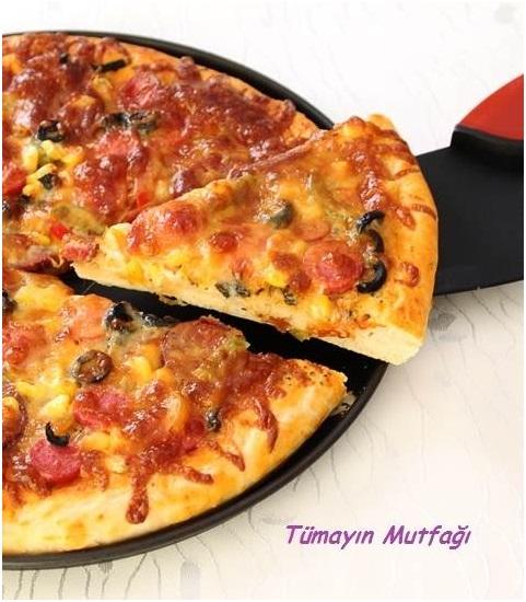 temel pizza hamuru t may n mutfa en yi yemek tarifleri sitesi. Black Bedroom Furniture Sets. Home Design Ideas