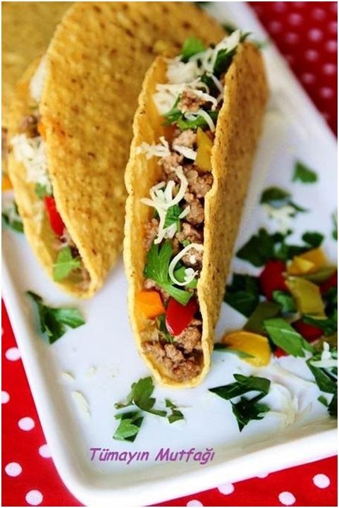 Kıymalı Taco