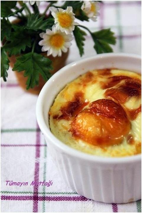 Parmesanlı Fırın Yumurta