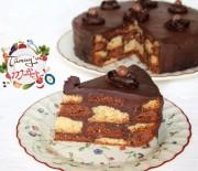 Bol Çikolatalı Bulmaca Pasta