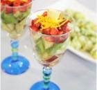 Narenciye Soslu Meyve Salatası