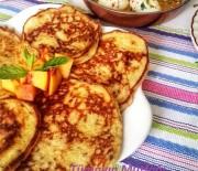 Glutensiz Şeftalili Pankek