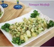 Zeytin Soslu Ilık Patates Salatası