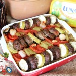 pureli patlıcan kebabı