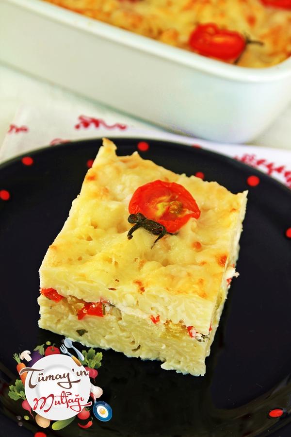 4 peynirli fırın makarna1