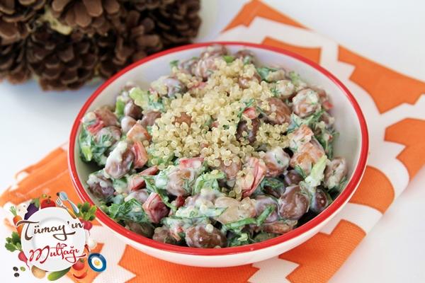 Kinoalı Barbunya Salatası