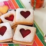 Marmelatlı Kalp Kurabiye ilk foto
