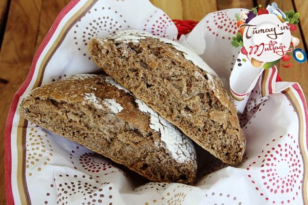 tam bugday unlu yogrulmayan ekmek
