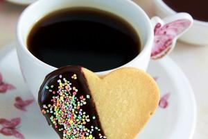 Limonlu Çikolatalı Kalp Kurabiye
