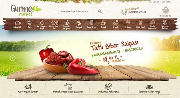 Yöresel Organik Ürünler Gurmemarket.com ile Kapınızda