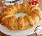 Peynirli Örgü Çörek