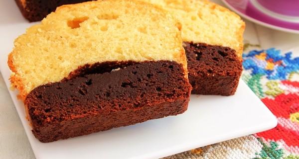 Brownie Kek (Altı Browni Üstü Kek)