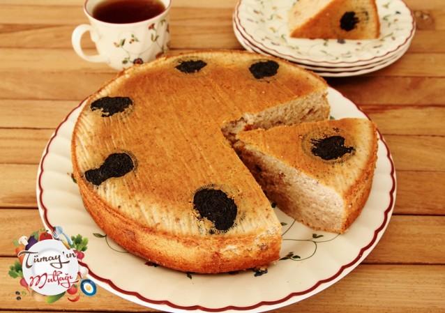Oreolu Elmalı Şantili Sünger Kek