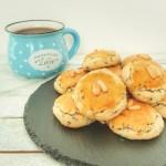 tuzlu mahlepli minik kurabiyeler