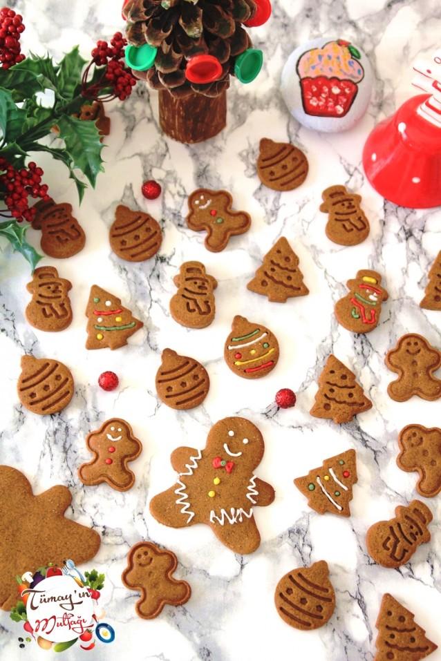 Gingerbread Man Zencefilli Tarçınlı Kurabiye