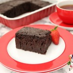 cikolata soslu islak kek