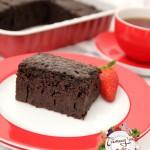 cikolata soslu islak kek1