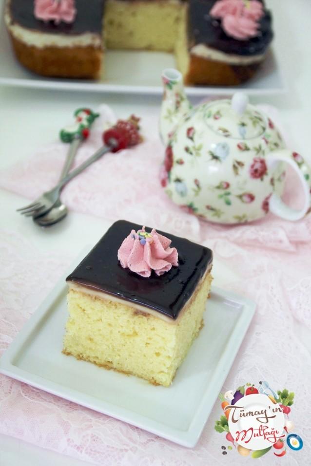 Kremalı Sünger Pasta