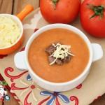 kavurmalı domates corbasi