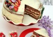 4 Katlı Çilekli Kolay Pasta