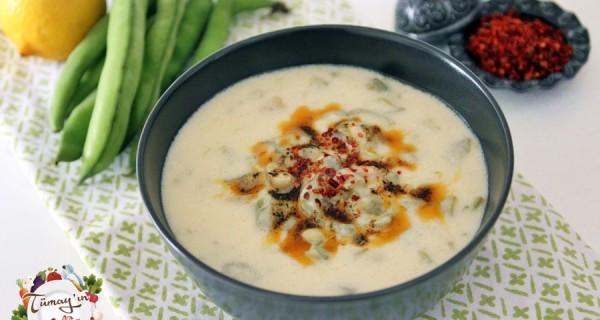 Taze Bakla Çorbası