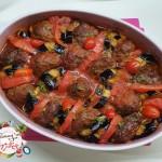 Kofteli Patlıcan Kebabı1