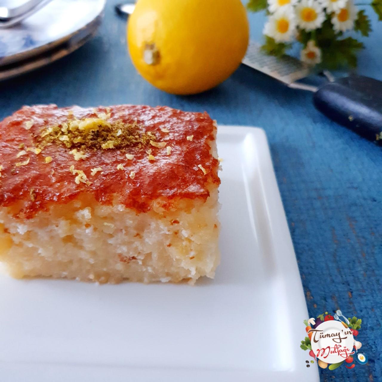 limon soslu ıslak kek