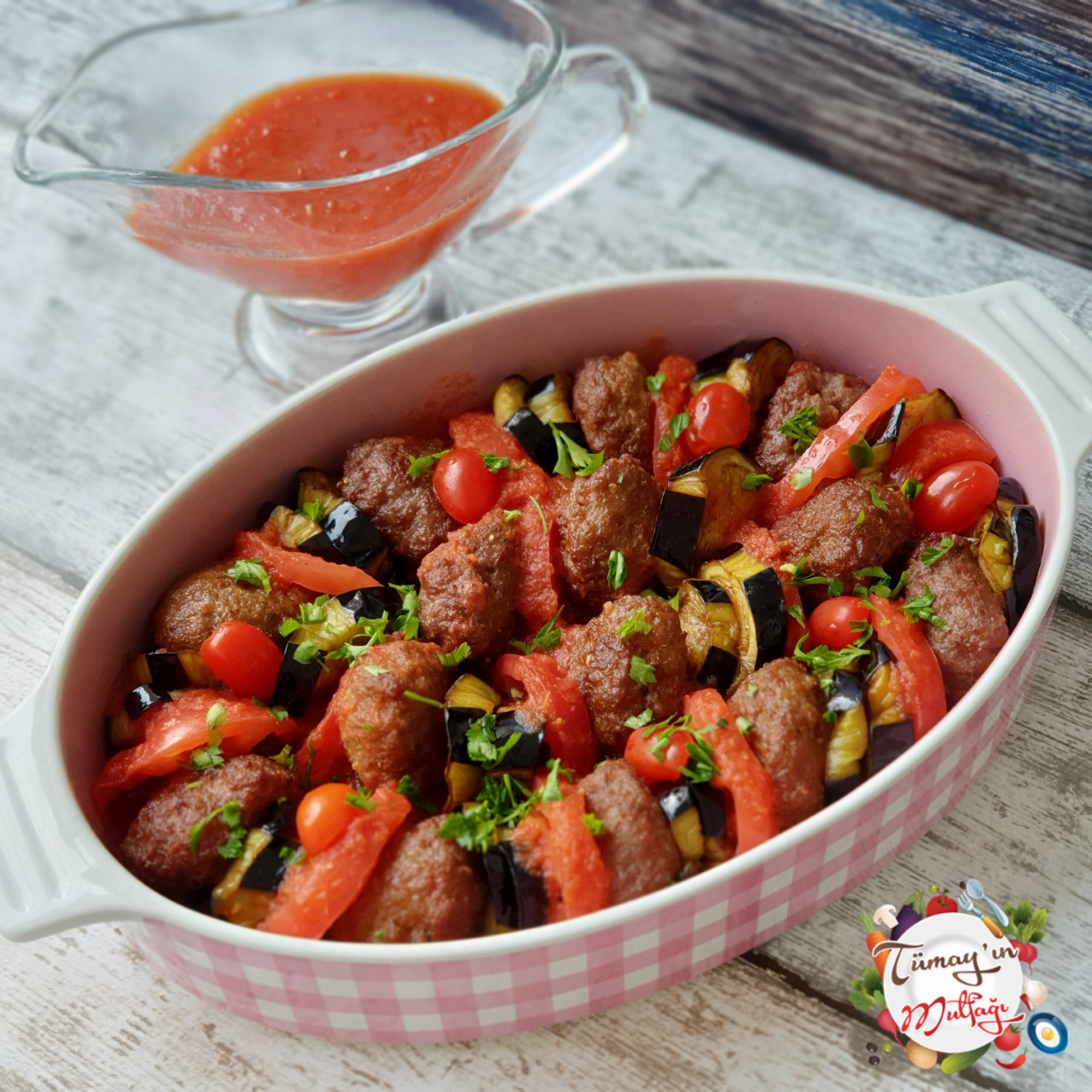 Kofteli Patlıcan Kebabı