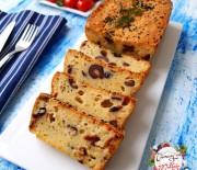 Kaşar Peynirli Zeytinli Kek